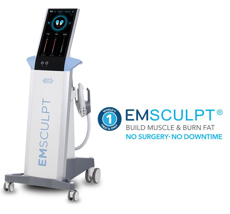 EMSculpt machine